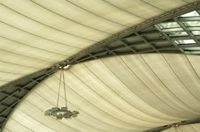 Ceiling With Lamp Royalty Free Stock Photography