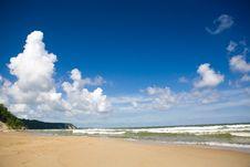 Free Seashore Royalty Free Stock Photos - 8449338