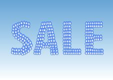 Sale Label. Royalty Free Stock Images