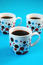 Free Colorful Coffee Mugs Stock Photography - 8453332