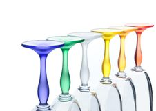 Free Isolated Colour Glasses Stock Image - 8450301