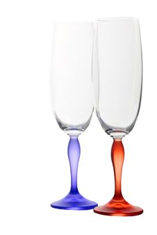 Free Isolated Colour Glasses 4 Stock Photo - 8450330