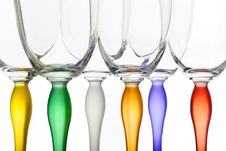 Free Isolated Colour Glasses 5 Stock Image - 8450341
