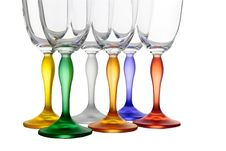 Free Isolated Colour Glasses 6 Stock Photo - 8450350