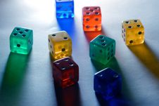 Free Dices Royalty Free Stock Images - 8450699
