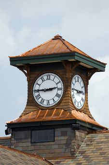 Free Clock Tower Royalty Free Stock Photo - 8450955
