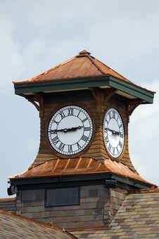 Free Clock Tower Royalty Free Stock Photo - 8450955