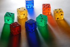 Free Dices Stock Images - 8451104