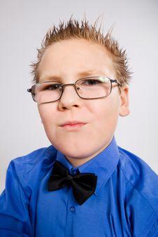 Free Handsome School Boy Stock Photo - 8452100