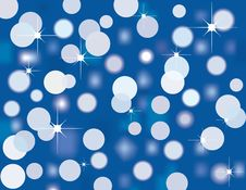 Free Blue Sparkling Lights Stock Photos - 8452303