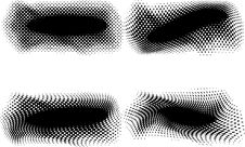 Free Vector Halftone Banner Royalty Free Stock Photo - 8452345