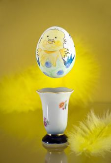 Free Hovering Egg Royalty Free Stock Photography - 8452427