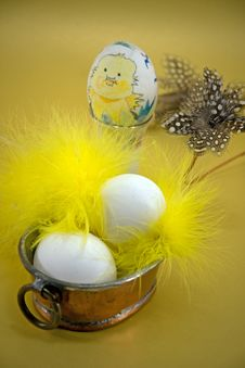 Free Easter Decoration Royalty Free Stock Photography - 8452437