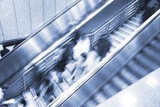 Free Escalator Royalty Free Stock Images - 8452769
