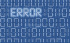 Free Error Stock Photography - 8452992