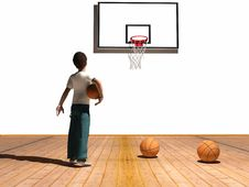 Free Boy With Ball Stock Image - 8453031