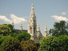 Vienna (Austria) - Gildhall Royalty Free Stock Image