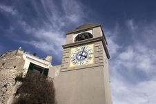 Free Clock Tower Royalty Free Stock Photography - 8453597