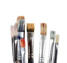 Free Several Brushes Royalty Free Stock Image - 8453916