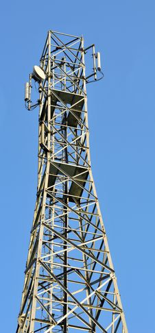 Free Telephone Tower Royalty Free Stock Images - 8453929