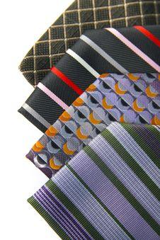 Free Ties Patterns Stock Photos - 8454333