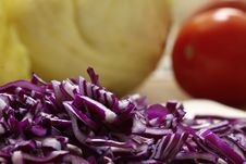 Free Red Cabbage Royalty Free Stock Image - 8454676