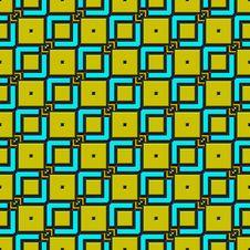 Diagonal 3d Squares Pattern Royalty Free Stock Photography