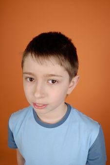 Free Smiling Boy Royalty Free Stock Image - 8455046