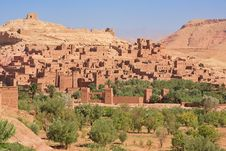 Casbah Ait Benhaddou Morocco Stock Photo