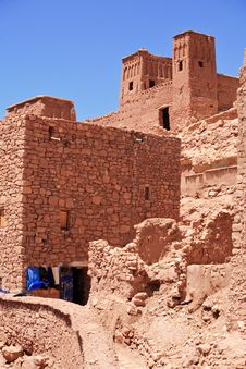 Casbah Ait Benhaddou Morocco Royalty Free Stock Photography