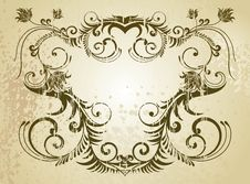 Free Vintage Frame Royalty Free Stock Photos - 8456038