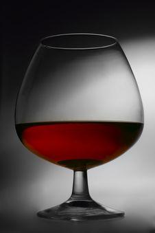 Free Brandy Glass Stock Photo - 8456080