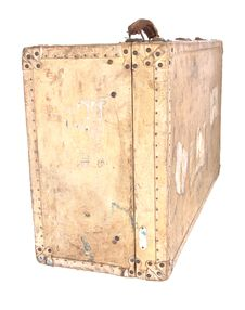 Free Old Suitcase Royalty Free Stock Photo - 8456375