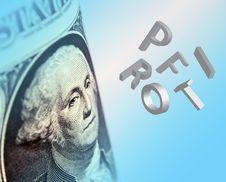 Free Dollar Profit Royalty Free Stock Photography - 8456427