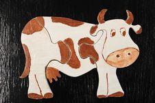 Free Puzzle Cow Stock Photo - 8457380