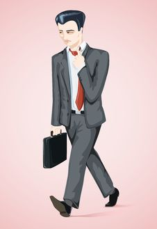 Free Businessman S Bad Day Royalty Free Stock Photo - 8457725