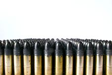Free Row Of Bullets Stock Photos - 8457943