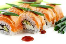 Free Sushi Royalty Free Stock Photo - 8458215