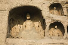 Free Yungang Caves Stock Photos - 8458923