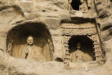 Free Yungang Caves Stock Photos - 8458953