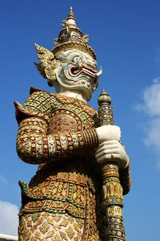 Giant - Grand Palace Royalty Free Stock Images