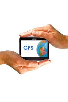 Gps Royalty Free Stock Photo