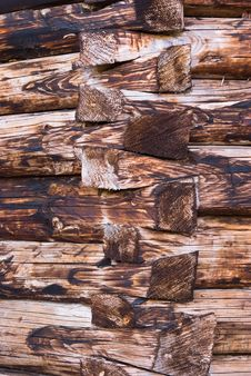 Rotten Wood Logs Royalty Free Stock Images