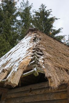 Free Thatch Roof Royalty Free Stock Photography - 8459607