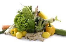 Free Fresh Vegetable Royalty Free Stock Photo - 8459965