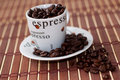 Free Coffee Cup And Saucer Stock Photos - 8467103