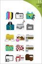 Free Icons And Folders Stock Images - 8467524