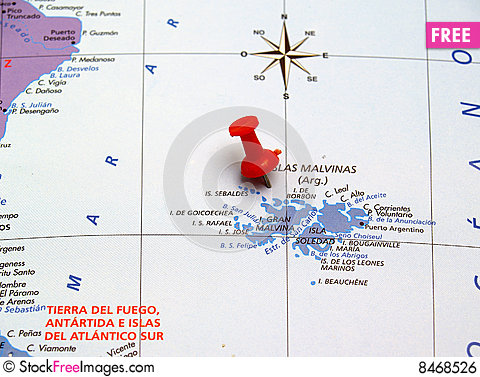 Free Map Of Argentina Royalty Free Stock Image - 8468526