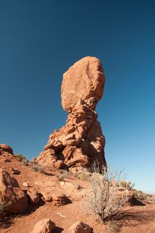 Free Balanced Rock Stock Photo - 8460020