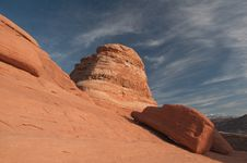 Free Desert Rock Formation Stock Photography - 8460032
